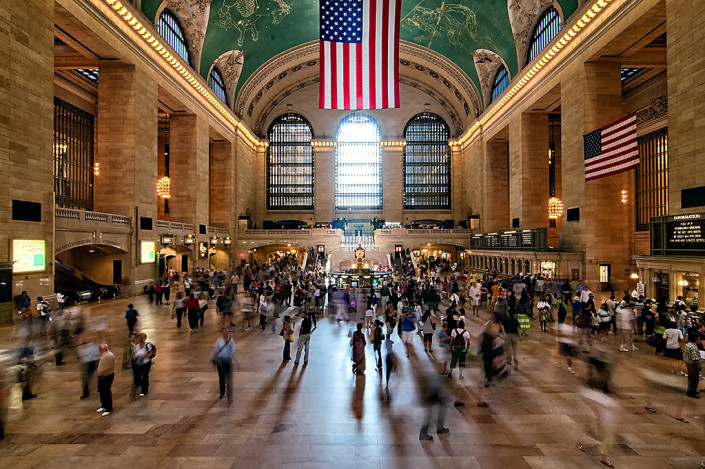 Grand Central Station in midtown New York City