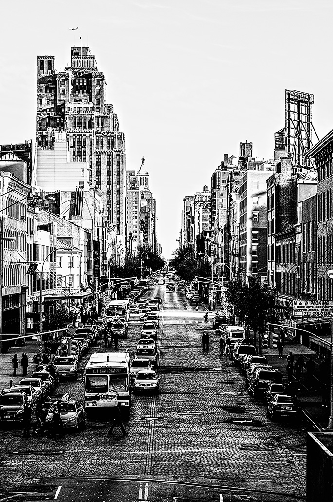 West side of New York City from the Highline