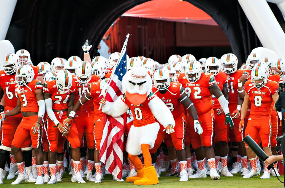 Miami Hurricanes vs. Bethune-Cookman Wildcats