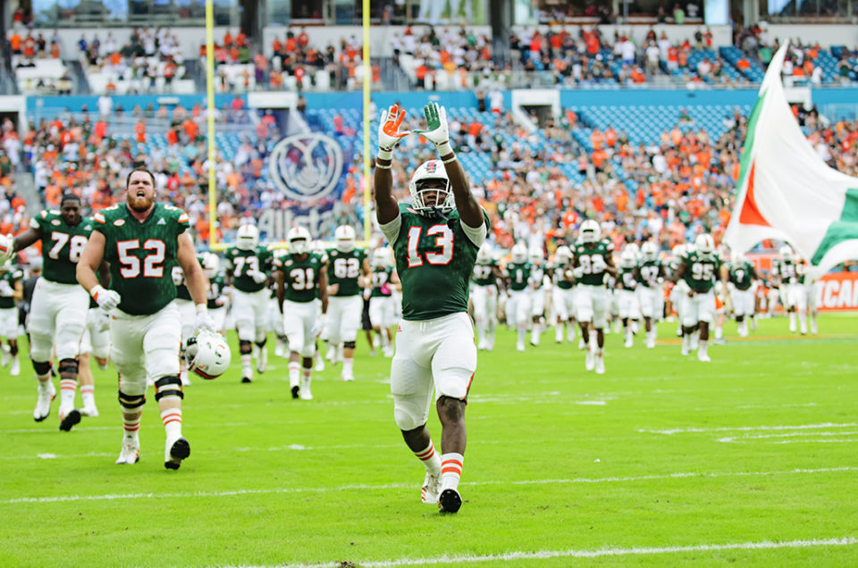 Game Photos – Hurricanes vs Georgia Tech