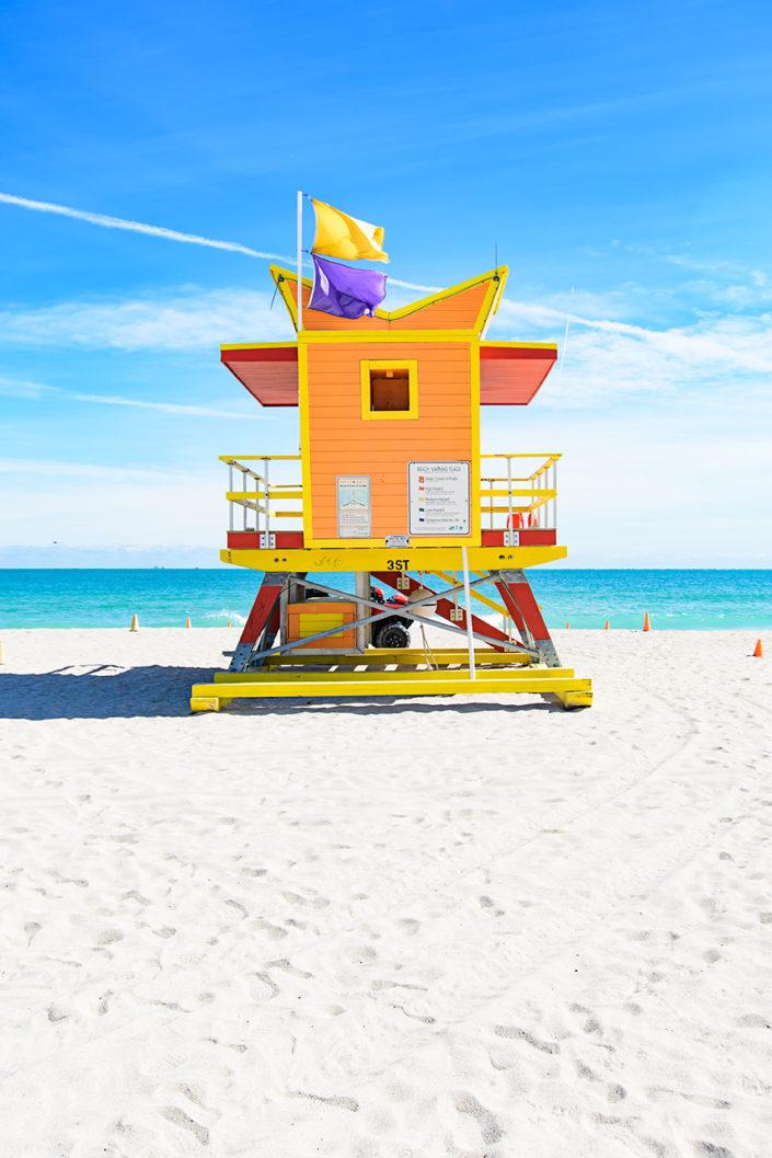 3rd Street lifeguard station, Miami Beach