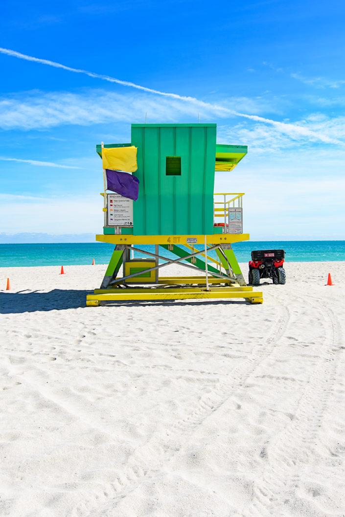 4th Street lifeguard station, Miami Beach