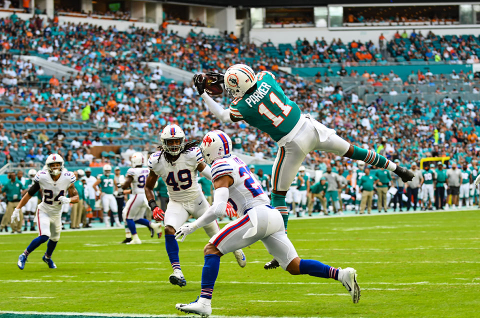 The Dolphins Beat the Bills in an AFC East Battle