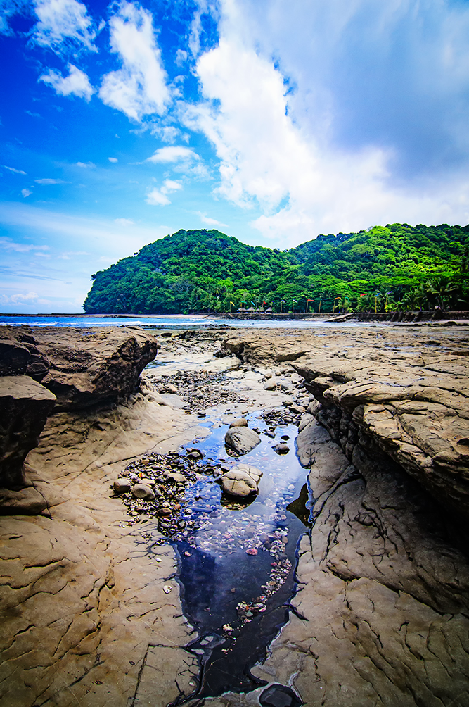 Tidal pool in Costa Rica