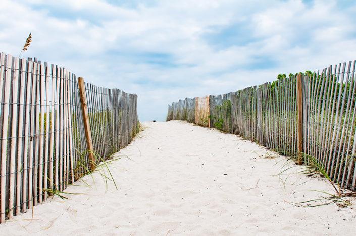 Pathway to Miami Beach