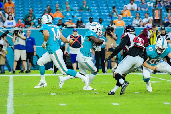 2019 NFL presason Ryan Fitzpatrick